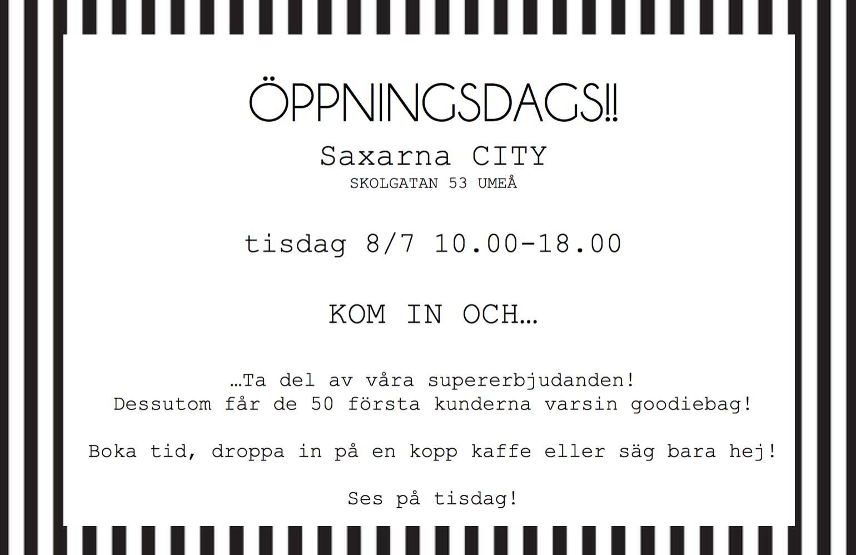 Ny salong i Umeå